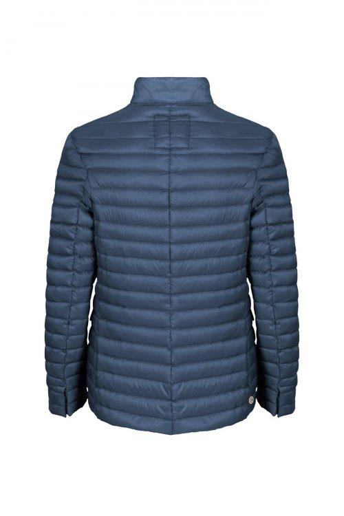 Giubbotto da uomo, modello blazer ultraleggero, chiusura con zip doppio cursore e bottoni