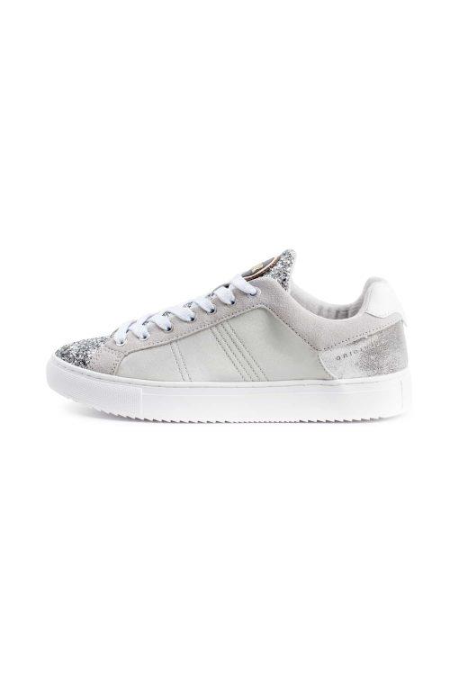 Sneakers da donna colore silver