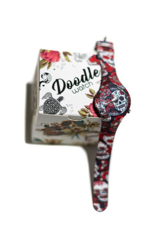 Orologio unisex Doodle Watch fantasia calaveras