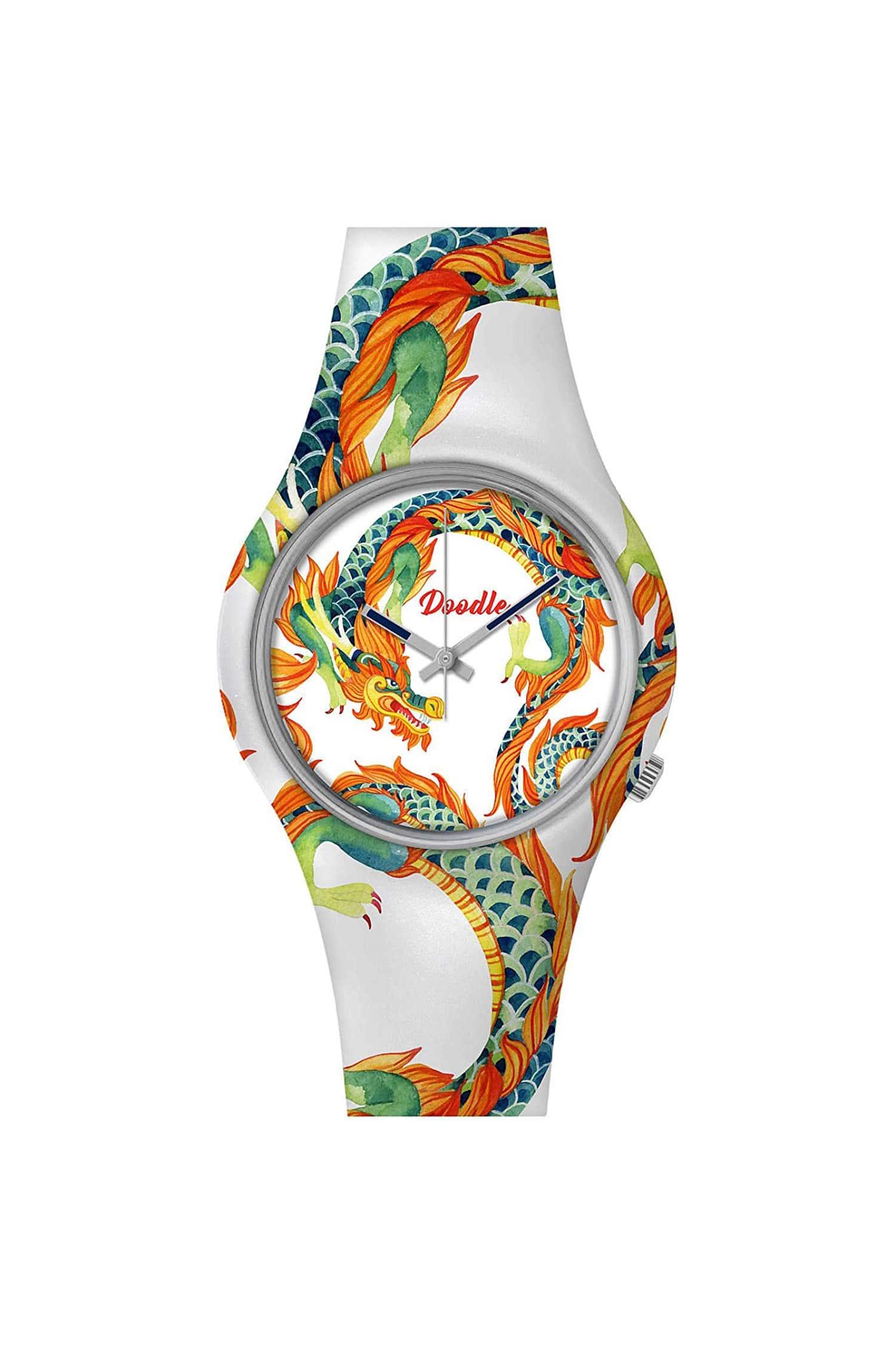 Orologio unisex Doodle Watch fantasia dragon