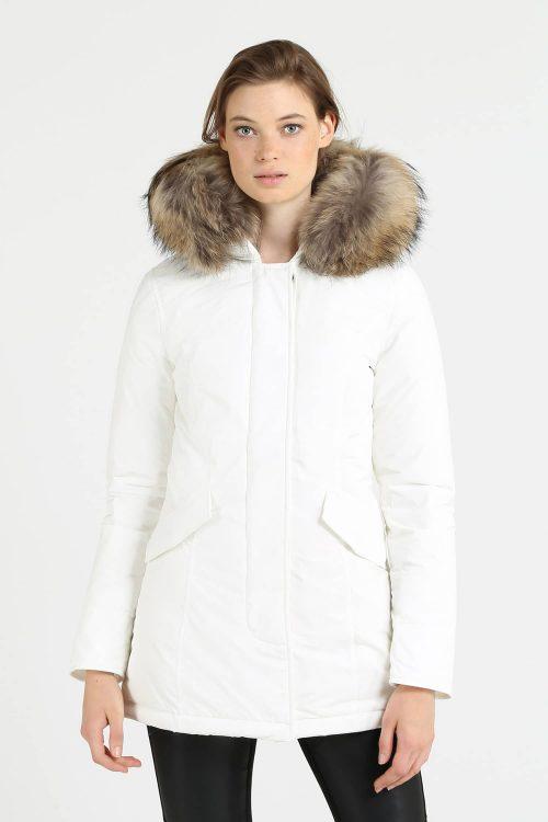 Woolrich luxury arctic parka bianco donna