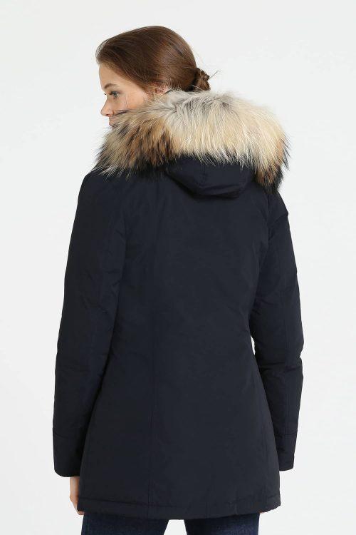 Woolrich luxury arctic parka blu navy donna