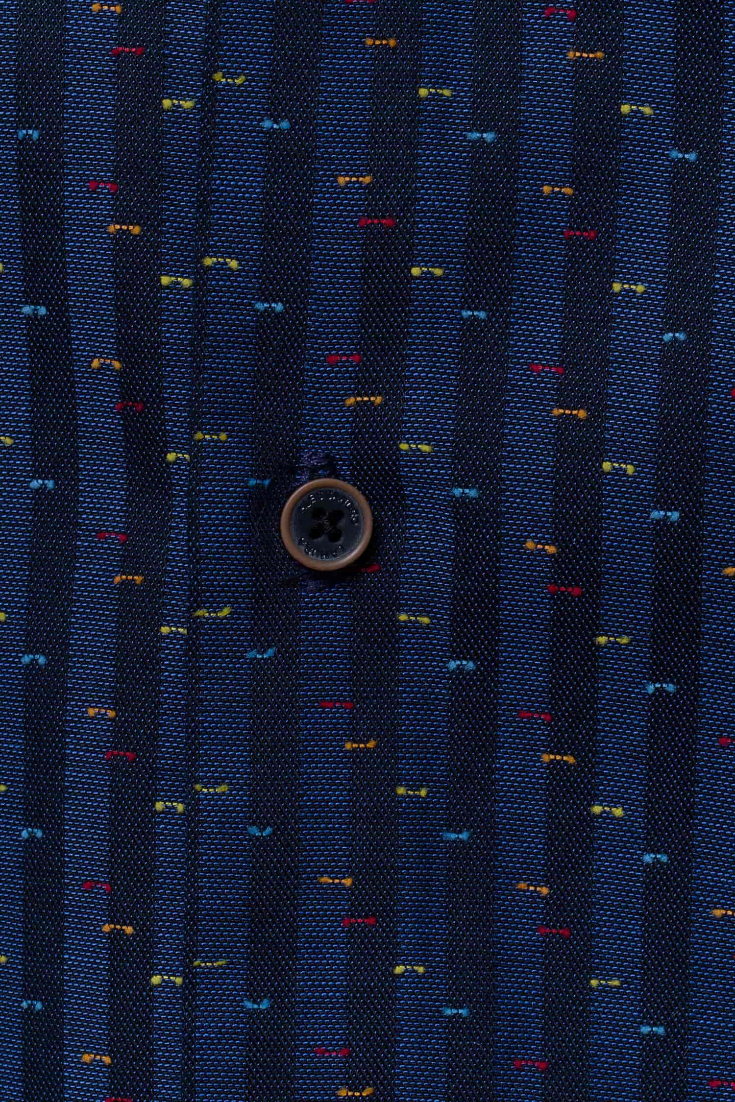 Alessandro Lamura camicia gelsomino blu uomo