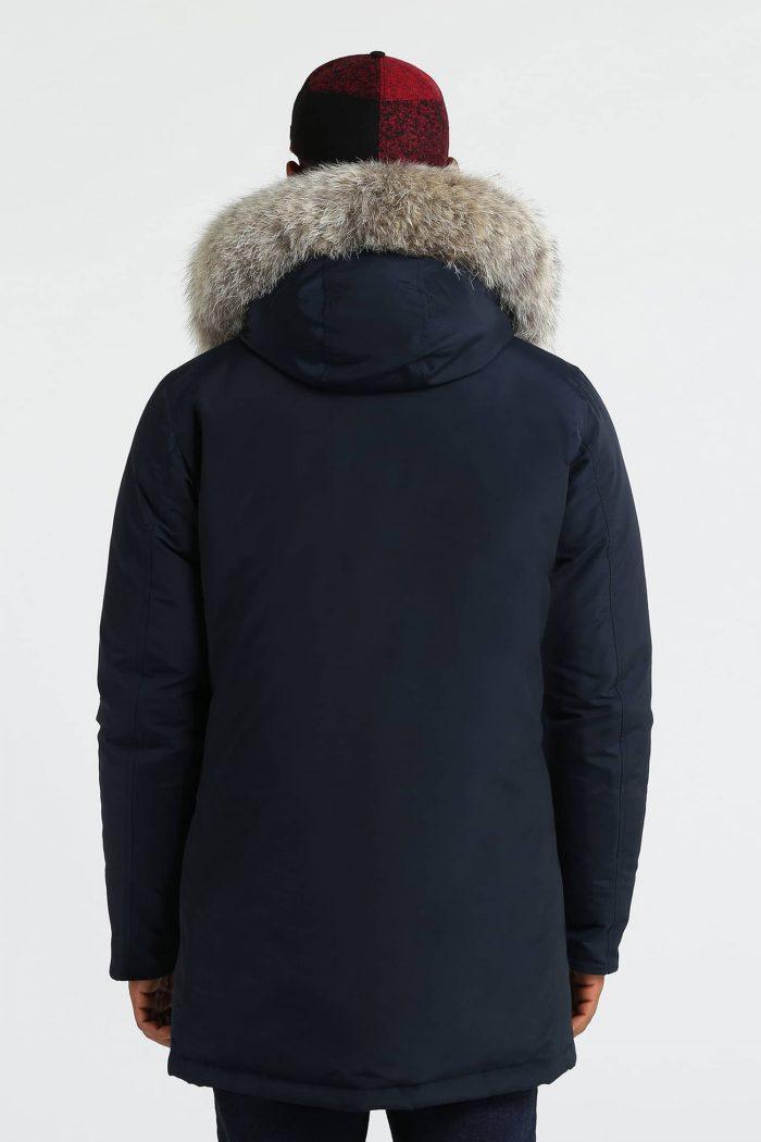 Woolrich Arctic Parka Df blu navy uomo