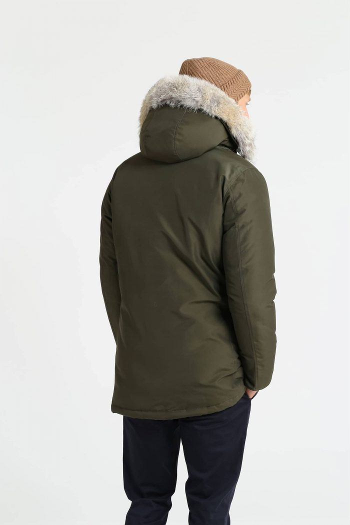 Woolrich Arctic Parka Df verde uomo