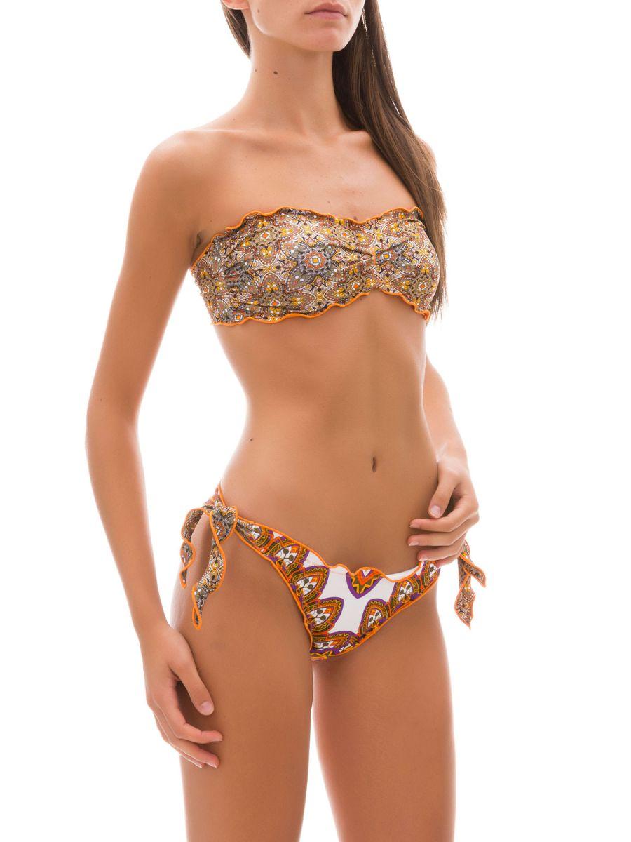 Bikini fascia e slip nodi